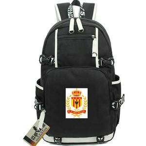 Mechelen gün paketi 1904 KV sırt çantası KVM Futbol kulübü schoolbag Futbol packsack Laptop sırt çantası Spor okul çantası Out door sırt çantası