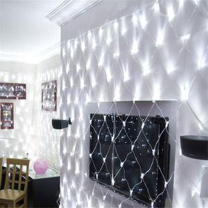Atacado 6 M x M 640 LED Extra Grande Net Light Cola À Prova D 'Água Lâmpada Luzes de Flash Luzes Decorativas