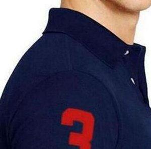 2018 nova moda casual marca dos homens verão de algodão de manga curta polo camisa dos homens tamanho grande de alta qualidade 21 cores tops de roupas casuais