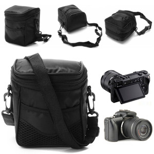 SIV Black Digital Camera Waterproof Case Shoulder Bag For Nikon Canon ILDC Camera New