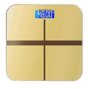 Échelle de pesage de ménage d'Adeeing, machine de mesure de perte de poids corporel de balances de salle de bains de Digital avec l'affichage de contre-jour de LED