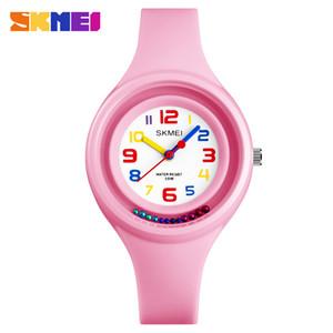 Bambini svegli guardano il quarzo 6 colori 50 metri anti-freeze bambini orologio per ragazza ragazzo scolaretta bambini miglior regalo con scatola gratis