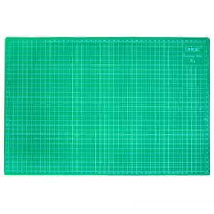PVC Cutting Mats A3 size Durable Self-healing Cutting Pad for Office and School 30cm*45cm Plate Dark Green