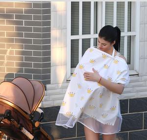 الأم تغذية الأمومة منصات التمريض الطفل الرضيع القطن في الهواء الطلق يغطي المئزر شال مكافحة أفرغت الرضاعة الطبيعية غطاء وشاح منشفة