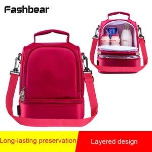 Tote Lunch Box Picnic Bag Multifunción Bento térmica Lunch Bag para mujeres hombres aislados Envase de almacenamiento Cooler