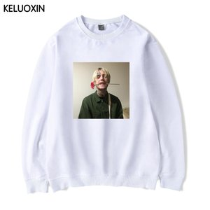 KELUOXIN 2018 Lil Peep R.I.P. Uzun Kollu Hoodies Erkek Kadın Pamuk Moda Rahat Streetwear Hip Hop Sudaderas Homme