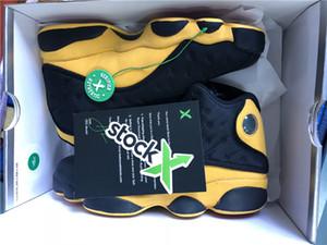 2018 Релиз 13 Мело класс 2002 человек баскетбол 13s обувь реального углеродного волокна воздуха кроссовки для мужчин приходят с коробкой 414571-035