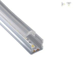 300 X 2M комплектов / серия 30 градусов угол луча водить прокладки алюминиевый профиль вверх крышка алюминий водить корпус для настенных ламп встраиваемые