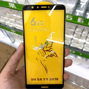 6D Full Cover Curved gehärtetes Glas Film für Huawei Mate 20 Lite P SmartScreen Protector HD Härte Fall für Huawei Honor 8X 10 Y9 2018