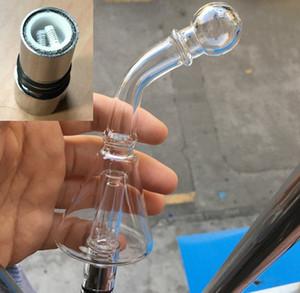 E Cig Glas Ball Wasser Aqua Bubbler Zerstäuber Shisha Shisha Bong Tank 510 Gewinde Zerstäuber Vaporizer Pen Trockenes Kraut Wachs