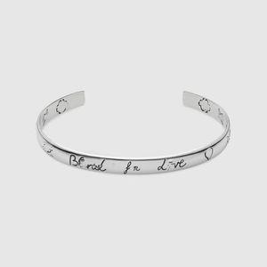 Bracelet en argent sterling 925 véritable rétro oeil couple hommes et femmes bracelet en argent bracelet en Europe et aux États-Unis Street star