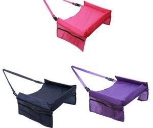5 colores bebé coche cinturón de seguridad de viaje bandeja de viaje mesa plegable cubierta de asiento de coche de bebé silla de paseo Snack con paquete de Opp