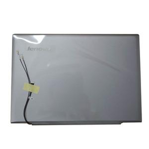 Ori lenovo u430 u430p laptop için lcd arka case arka kapak gümüş gri 3CLZ9LCLV30 Olmayan dokunmatik 3CLZ9LCLV00 Alt Bankası Kapak 3ALZ9BALV20