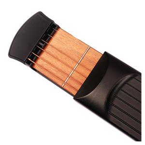 6 Fret guitarra Prática Cordas Portátil Pocket Guitar Tool Gadget C8L5