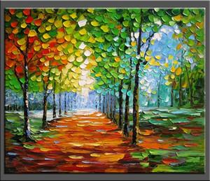 Abstract Landscape Canvas Quality HandPainted / HD Stampa moderna Wall Art Pittura a olio su tela Home Decor. Multi formati / frame Opzioni Ls065