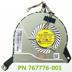 NEW CPU FAN FOR HP PAVILION 14 V 15 V-15 P-15 F-17 P261NE 767712-001 COOLING FAN 15 P105nr TPN-Q140 TPN-Q143의 CPU