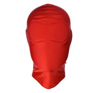 BDSM Bondage Leather For Locking Full Play Fetish Blindfold Masks Adult For Face Hood Games Sex Xtpje