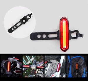 120 Lümen USB Şarj Edilebilir Bisiklet Arka Işık 3 Modu Bisiklet LED Arka Lambası Su Geçirmez MTB Yol Bisikleti Kuyruk Işık Emniyet Uyarı Lambası