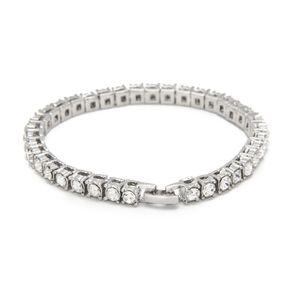 Nuovo arrivo Luxury Crystal Tennis Bracciale in oro argento Colore Braclet per le donne Ragazze Party Wedding Accessori mano gioielli