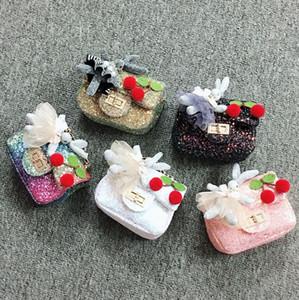 Kids Cion borse ragazze catena borse a catena borse cross-body moda coreano bambini ragazze borse a tracolla bambini mini caramelle borse regali di Natale