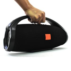 Super 25W BoomBox Alto HiFi Columna Inalámbrico Bluetooth Subwoofer Subwoofer Súper Bass Box Support Reproductor de música Altavoz Radio FM TF / USB