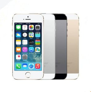 "Refurbished Unlocked Apple iPhone 5S WITHOUT fingerprint iOS A7 4.0"" IPS HD GPS 16GB 32GB 64GB ROM dual core Phones"