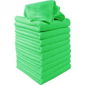 10Pcs 30x30cm Microfiber Wash Clean Towels Toallas de limpieza de cristales de coche Paños suaves