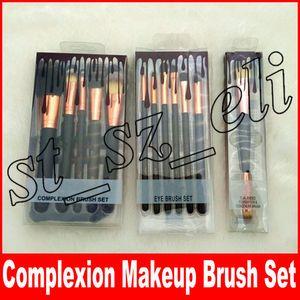 Maquiagem Conjunto de Pincéis de Tinta 5 pcs 6 pcs Eye Brush Set 1 pc Dual-Ended FoundationConcealer Maquiagem Ferramentas DHL livre