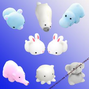 Squishies yavaş yükselen jumbo oyuncak sevimli hayvanlar kawaii kızlar hediye charm hediyeler squishy rabit mühür ayı
