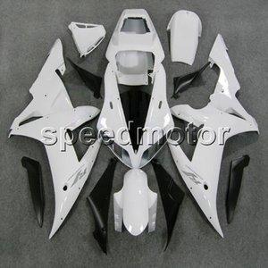 Пользовательские + винты Белый обвес YZFR1 02-03 YZF-R1 2002 2003 ABS мотоцикл обтекатель для Yamaha