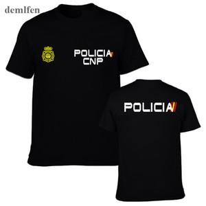 Espana Policia España National Espana Policia Anti Riot Swat Geo Goes Special Forces Hombres Camisetas Tops Camisetas