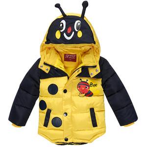 KEAIYOUHUO Neonati Cappotto 2018 Autunno Inverno Giacche Per Ragazzi Giacca Bambini Caldo Con Cappuccio Capispalla Cappotto Abbigliamento Per Bambini