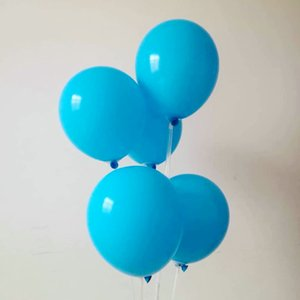 Blue balloon 50pcs lot10 inch thick round latex ballon Christmas decorations baloons birthday party wedding supplies kids toys
