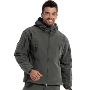 Marca Jacket V5 .0 Militar Tático Homens Jaqueta Espreitador Pele De Tubarão Legal Macio Shell À Prova de Vento À Prova de Vento Homens Casaco Jaqueta Blusão