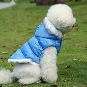 Cane giù giacca invernale vestiti del cane del cappotto di alta qualità Dog Pet Abbigliamento Outwear esterno l'abbigliamento Bulldog francese Costume Abbigliamento