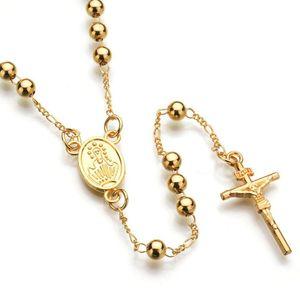 designer jewelry JESUS CROSS Fashion Pendant Necklace Jewelry hip hop jewelry Chain Christian Symbol Nice Gift High Quality