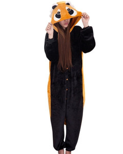 Unisex Yetişkin Kigurumi Gecelik Pijama Cosplay Kostüm Pijama