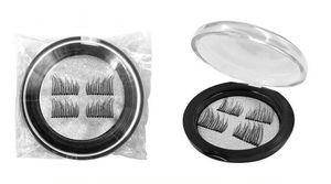 Новый Arrvial 3 магнитные ресницы макияж аксессуар для глаз ручной Магнит поддельные ресницы груза падения