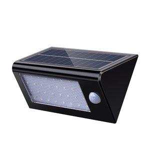 Energia solar lâmpada de indução do corpo humano 32led lâmpada de indução de controle de luz lâmpada do pátio parede destacável Lâmpadas solares