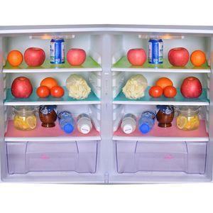 Hoomall 4PCs/set Fridge Waterproof Mats Moisture Tailorable Pad For Kitchen Refrigerator Pad Antibacterial Antifouling Mildew