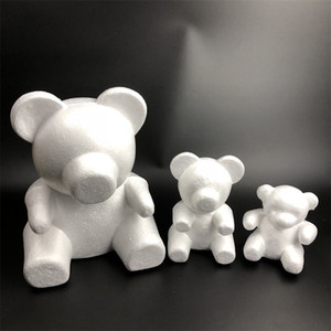 Gül ayı çiçek Ayı 15 cm 20 cm, 35 cm, 0 cm, 60 cm vb boyutu embriyo köpük roseonly Bear kalıp köpük plastik çiçek yapay çiçek kalıp