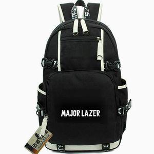 Major Lazer Tagesrucksack Walshy Fire Daypack Diplo DJ Schultasche Leisure Packsack Laptop Rucksack Sport Schultasche Out Door Rucksack