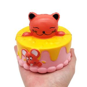 10 CM Squishy Cute little bear Squeeze Cake Creciente Crema Crema Perfumada Juguetes de descompresión squishy oyuncak antiestrés squishi juguetes para niños