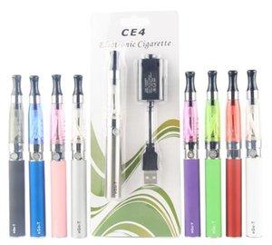 kits blister cigarro CE4 ego Starter Kit CE4 eletrônicos e cig 650mAh 900mAh 1100mAh EGO-T caso blister bateria Clearomizer E-cigarro