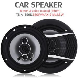 TS-A1696S 2pcs 6 Inch 650W Car HiFi Coaxial Speaker Vehicle Door Auto Audio Music Stereo Full Range Frequency Car Speakers CSA_00J