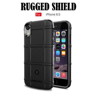 Rugger Armor TPU para o iphone X XS XR XS MAX Capa Traseira de Silicone Macio À Prova de Choque Armor Shell Case