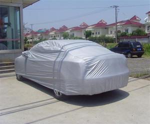 Universal Car Covers Taille S / M / L / XL / XXL / SUV XL Intérieur Extérieur pleine voiture Housse de protection résistant Sun UV neige poussière pluie