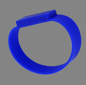 Full Capacity Silicone Bracelet Wrist Band 4GB 8GB 16GB 32GB USB 2.0 Flash Drive Pen Drive Stick U Disk Pendrives