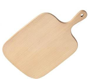 Free shipping Home Wooden Cutting Board Kitchen Chopping Block Wood Cake Sushi Plate Serving Trays Bread Fruit Pizza Tray Baking Tool