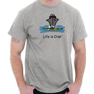 Das Leben ist Mist Ocean Kayak lustige Shirt süße Geschenkidee sarkastischen T-Shirt